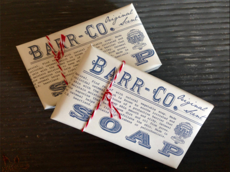 Barr-Co Soap - Iron Grate