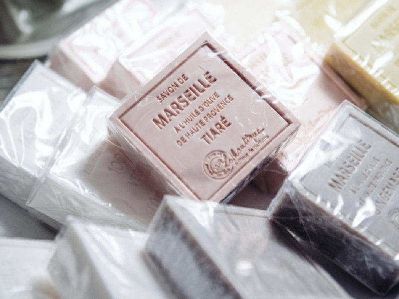 Marseille Soap - Iron Grate