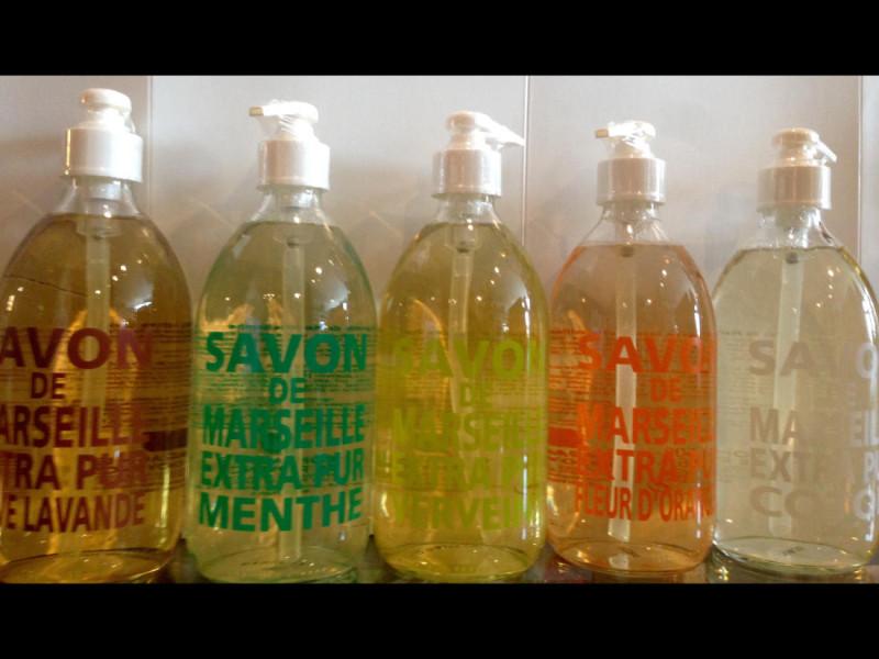 Savonde Marseill Liquio Soap - Iron Grate