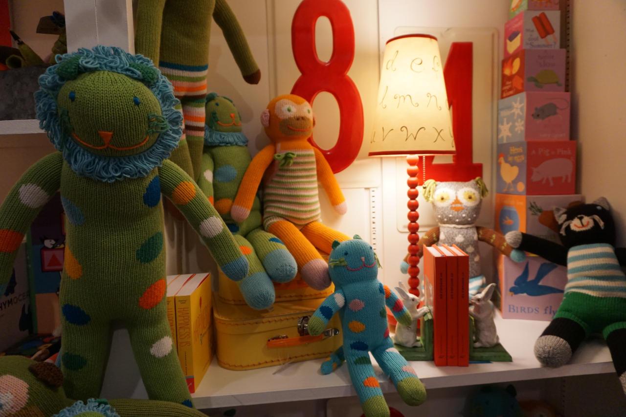 Knit Stuffed Animals - Iron Grate Fenton