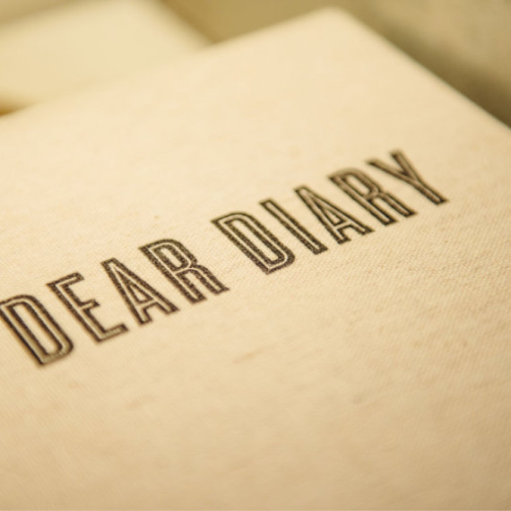 Diary Stationary - The Iron Grate Fenton MI