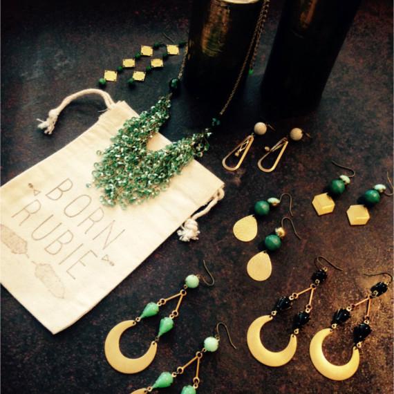 Born Rubie Jewelry - The Iron Grate Fenton MI