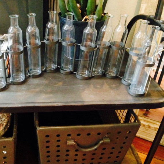 Bottle Vases - The Iron Grate Fenton MI