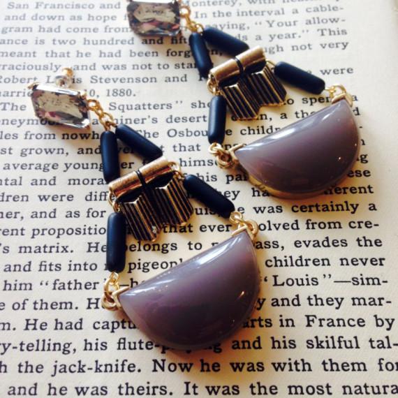 Earrings by David Aubrey - The Iron Grate Fenton MI
