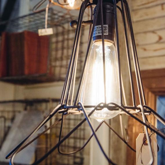 Industrial Lighting 2 - The Iron Grate Fenton MI