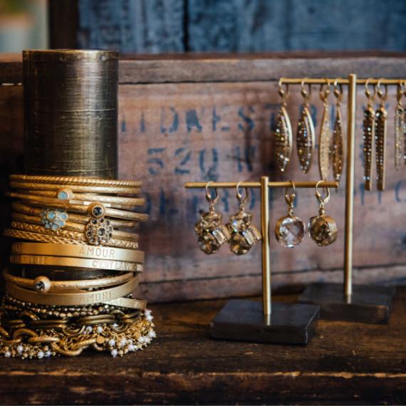 Gold Bracelets - The Iron Grate Fenton MI