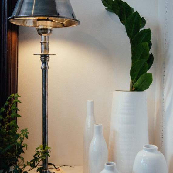 Lamps, accessories and Greenery - The Iron Grate