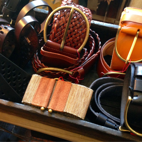 Leather Belts Accessories - Clothing The Iron Grate Fenton