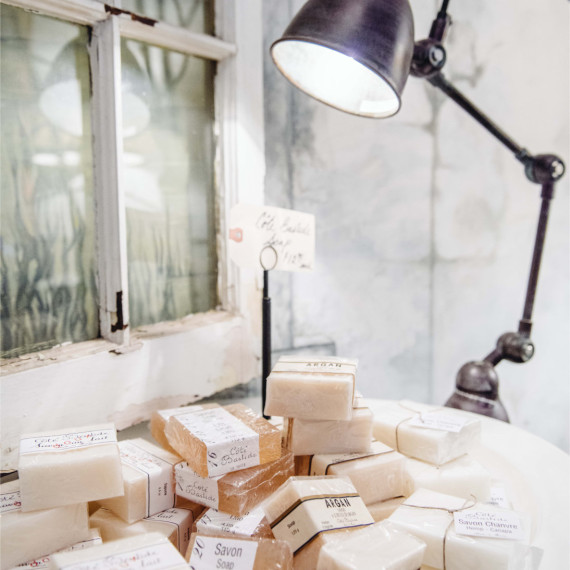 Marseille Soap Lamps - The Iron Grate Fenton MI