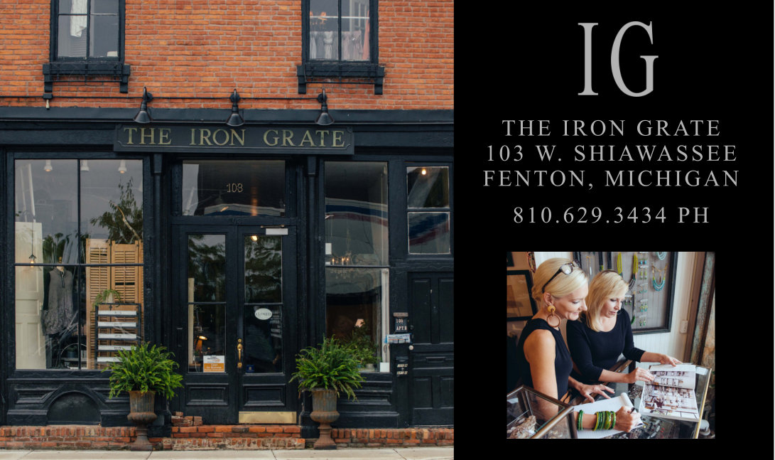 The Iron Grate Store Front Boutique Fenton – Slider